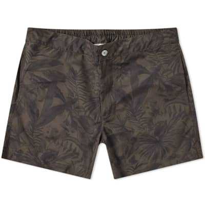 Officine Generale Roman Jungle Swim Short