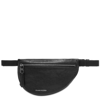 Alexander McQueen Leather Waist Bag