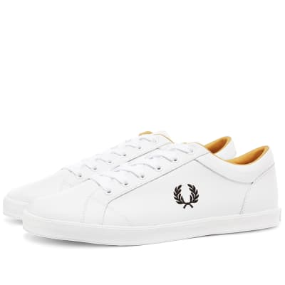 Fred Perry Authentic Baseline Leather Sneaker
