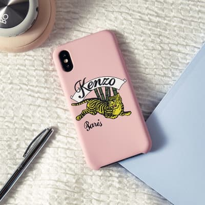 Kenzo iPhone X Jumping Tiger Case