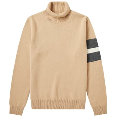 Maison Margiela 14 Arm Stripe Roll Neck Knit