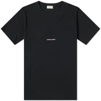 Saint Laurent Archive Logo Tee