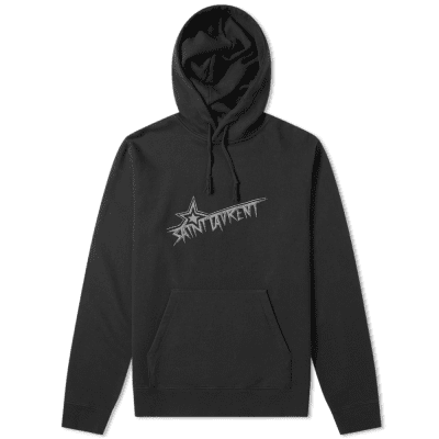 Saint Laurent Star Logo Hoody