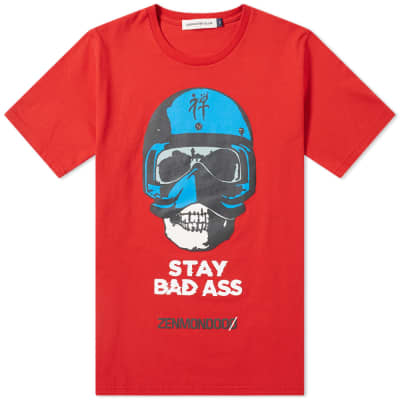 Undercover Stay Bad Ass Print Tee