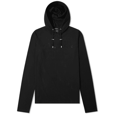 Balmain Long Sleeve Hooded Tee