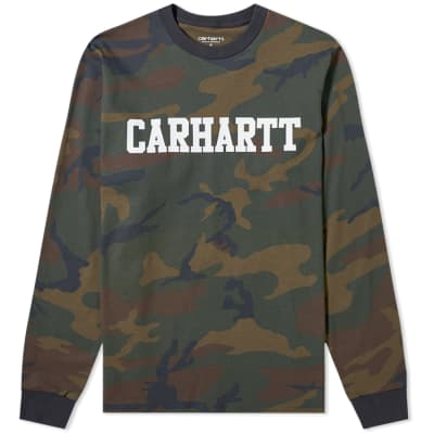 Carhartt Long Sleeve College Tee