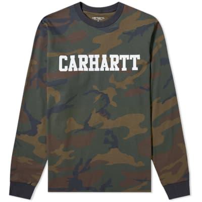 0a0538db34 Carhartt Long Sleeve College Tee