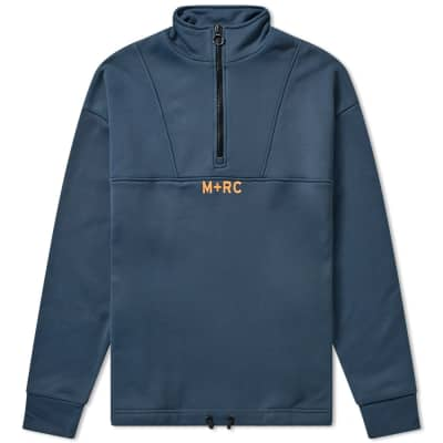 M+RC Noir Quarter Zip Sweat