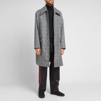 Givenchy Prince of Wales Wool Coat