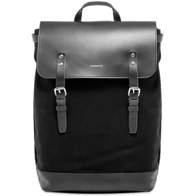 Sandqvist Hege Canvas & Leather Backpack