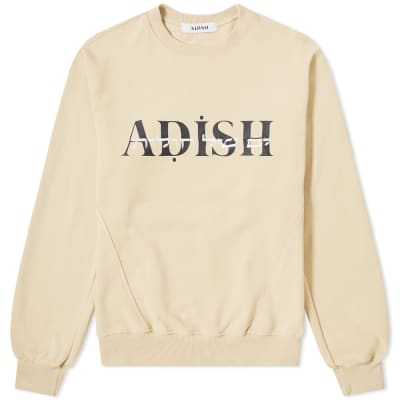 ADISH Sea of Sand Hebrew Crew Sweat