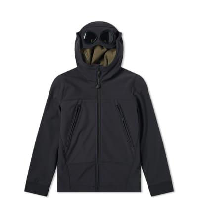 C.P. Company Undersixteen Hooded Soft Shell Goggle Jacket