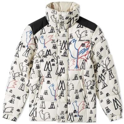 Moncler Genius 2 Moncler 1952 Marennes Print Down Jacket