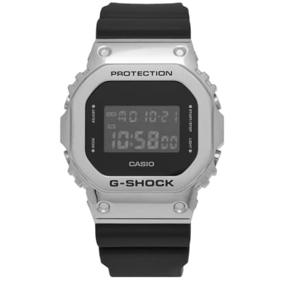 Casio G-Shock GM-5600 Metal Bezel Watch