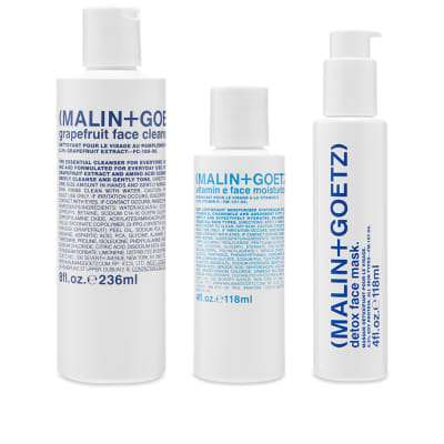 Malin + Goetz Saving Face Gift Kit
