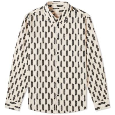 Nudie Chuck Ikat Shirt