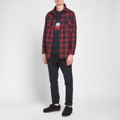 Nudie Gabriel Shadow Check Shirt