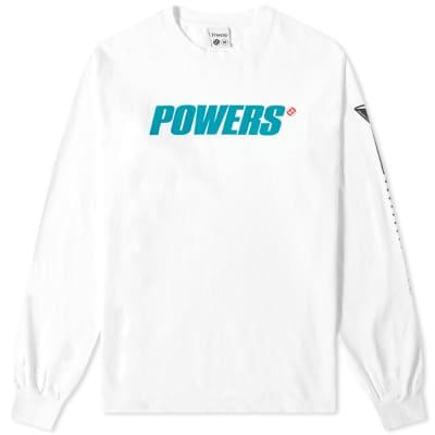 POWERS Long Sleeve Logo Tee