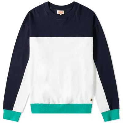 Armor-Lux 77350 Block Colour Sweat