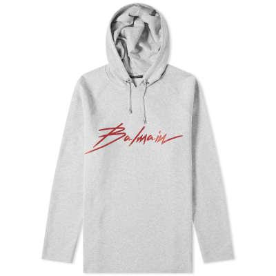 Balmain Signature Logo Hoody