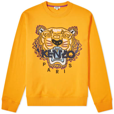 Kenzo Embroidered Tiger Crew Sweat