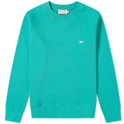 Maison Kitsuné Tricolour Fox Crew Sweat