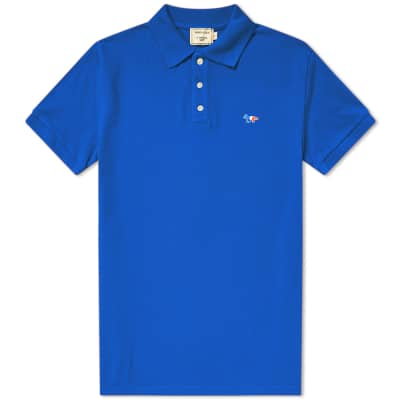 Maison Kitsuné Tricolour Fox Polo
