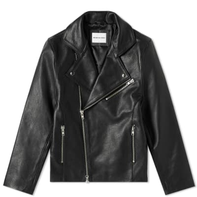 MKI Leather Biker Jacket