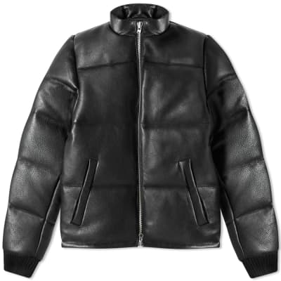 MKI Leather Bubble Jacket