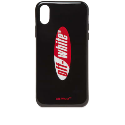 Off-White Split Logo iPhone X Cover