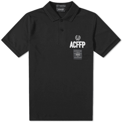 Fred Perry x Art Comes First Embroidered Polo