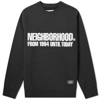 Neighborhood Classic Crew Sweat