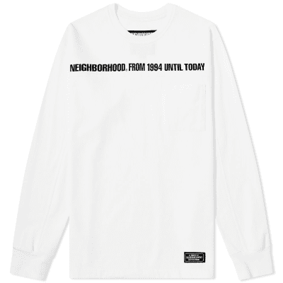 Neighborhood Long Sleeve Classic P/C-Crew Tee