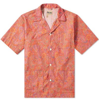 Nigel Cabourn x Lybro Short Sleeve Paisley Vacation Shirt