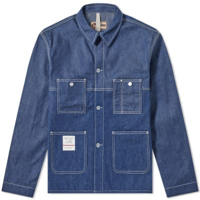 Nigel Cabourn x Lybro Split Mechanics Jacket