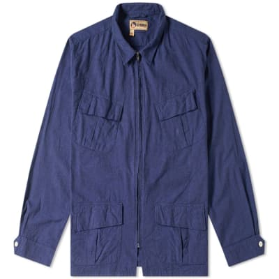 Nigel Cabourn x Lybro Zip Nam Jacket