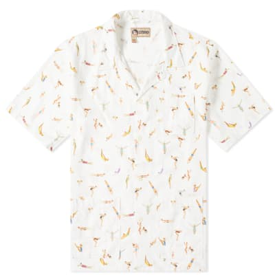 Nigel Cabourn x Lybro Short Sleeve Swimmers Vacation Shirt