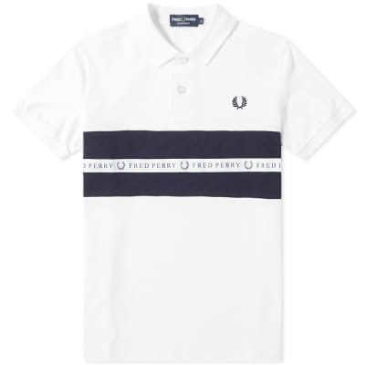 Fred Perry Taped Panel Polo