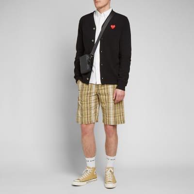 Kenzo Tailored Check Short