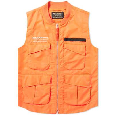 Maharishi x XL Recordings Utility Vest