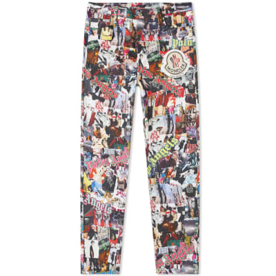 Moncler Genius - 8 Moncler Palm Angels 5 Pocket Pant