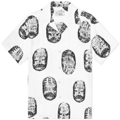 Wacko Maria Short Sleeve Face Hawaiian Shirt