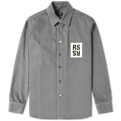 Raf Simons Patch Denim Shirt