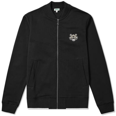 Kenzo Tiger Logo Zip Bomber Jacket