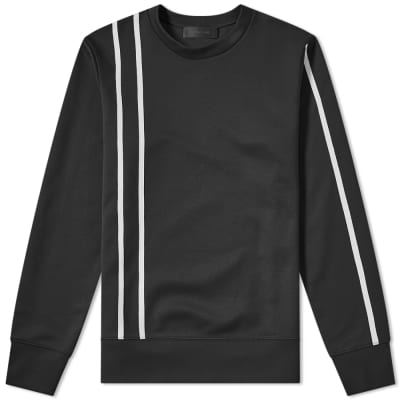 Helmut Lang Stripe Crew Sweat