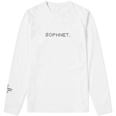 SOPHNET. x Tatsuo Miyajima Long Sleeve Time C-1 Substrate Tee