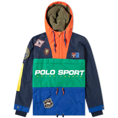 Polo Ralph Lauren Polo Sport Sportsman Patched Hooded Jacket