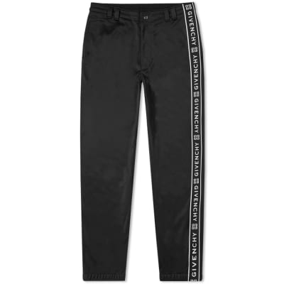 Givenchy Popper Detail Taped Track Pant