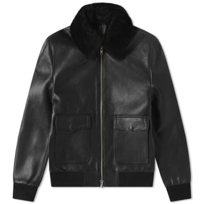 MKI Leather A2 Flight Jacket