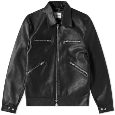MKI Leather Rider Jacket